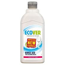 Ecover Ecological Rinse Aid for Dishwashers (500ml) - Pack of 2
