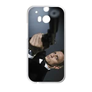 Happy The Gunman Cell Phone Case for HTC One M8