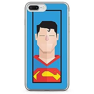 Loud Universe iPhone 7 Plus Transparent Edge Case - Superman Clarke Kant Superhero
