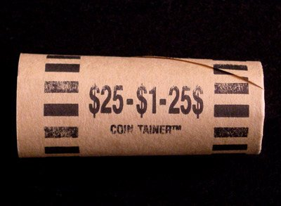 Preformed Coin Wrappers for 25 SMALL DOLLARS $25 Bag of 100