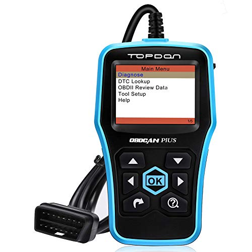 Topdon Car OBD2 Scanner, Plus Professional Car Diagnostic Scanner OBD2 Full Function with DTC Lookup and Free Update by TT TOPDON (Image #7)