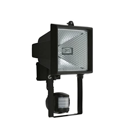 Kanlux Faro proyector halógeno Sensor Movimiento Negro Jen ce-82px ...