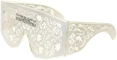 LINDA FARROW KTZ Mask Crystal White Ivory Filigree KTZ4 Fashion Accessory