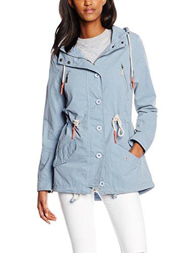 Cross Jeans, Chaqueta para Mujer Azul Claro