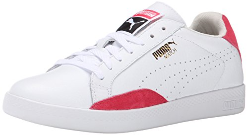 - PUMA Match LO Basic Sports Women's-W, White/Geranium, 11 B US