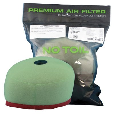 - No Toil Super-Flo Air Filter Kit Replacement Filter for Yamaha WR250R 2008-2018