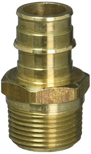 Uponor Wirsbo ProPEX LF Brass Male Threaded Adapter, 3/4
