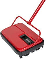 Eyliden Carpet Sweeper, Hand Push Carpet & Floor Sweepers, Non-Electric Easy Manual Sweeping, Automatic Compact Broom...
