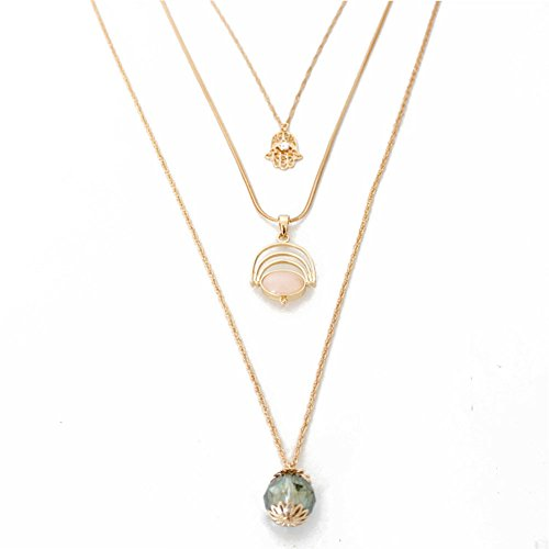 ssories Simple Pendant Chain Multilayered Wild Style Long Sweater Necklace £¨ Globular ) ()