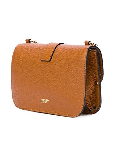 Red Valentino Borsa A Spalla Donna NQ2B0707DNOA06 Pelle Arancione