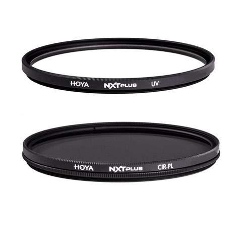 Hoya NXT Plus 40.5mm 10-Layer HMC Multi-Coated UV Lens Filter, Low-Profile Aluminum Frame NXT Plus 40.5mm 10-Layer HMC Multi-Coated Circular Polarizer Lens Filter