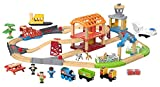 Thomas & Friends Fisher-Price Wood, Busy Island Set [Amazon Exclusive]