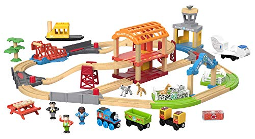 Thomas & Friends Fisher-Price Wood, Busy Island (Best Thomas & Friends Of Trains)