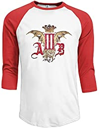 Guy Alter Bridge Rock And Roll Logo 3/4 Raglan Shirts Baseball Jerseys