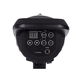 StudioPRO Professional Photography Studio 150W/s Monolight Strobe Flash Head with Bowens Style Mount