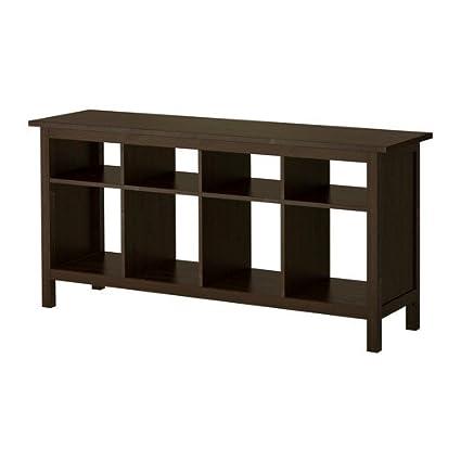 Amazon.com: Ikea Sofa table, black-brown 226.17526.238 ...