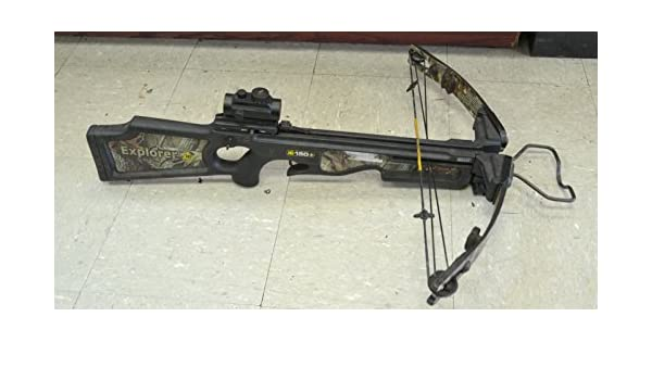Horton Explorer HD150 Crossbow with Red Dot Scope, Crossbows