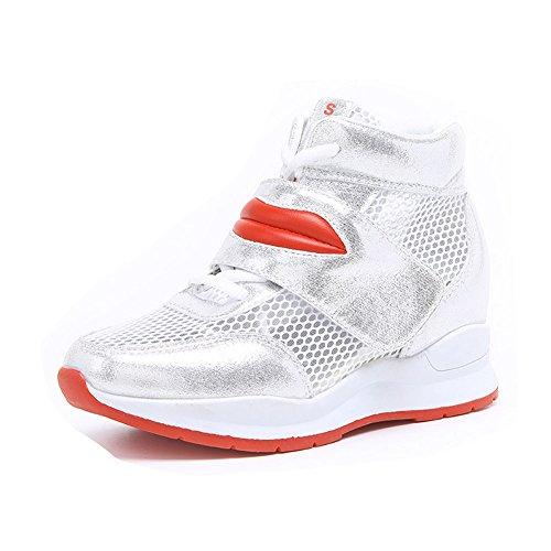 Verano Casual Zapatillas Tac Zapatillas Deporte Transpirables de Cu Para a happygo Mujer de nxAWSw44qP