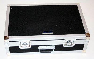Seismic Audio - Pedal Board Case ATA 34'' Storage Rack