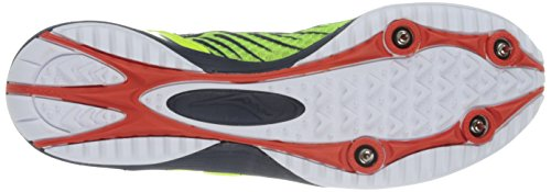 Pictures of Saucony Men's Kilkenny Xc5 Spike Cross Citron/Navy/Red 7
