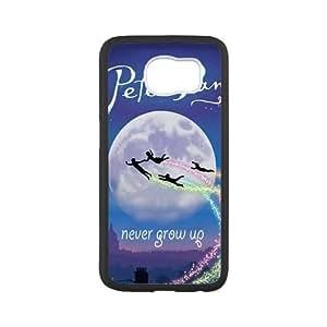 Super Artswow Samsung Galaxy S6 Peter Pan Never Grow Up Custom Plastic TPU Cell Phone Case
