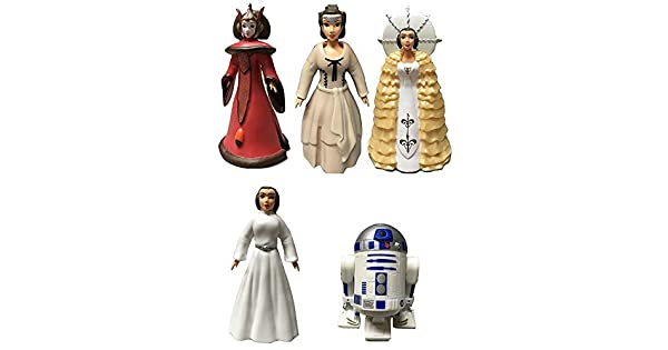 Amazon.com: Disney Star Wars cifras de reina Amidala y ...