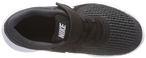 Nike Boys' Revolution 4 (PSV) Running Shoe, Black/White-Anthracite, 3Y Youth US Little Kid by Nike (Image #7)