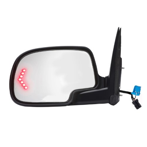 - Fit System 62134G Chevrolet/GMC/Cadillac Driver Side OE Style Heated Power Replacement Towing Mirror with Arrow Signal