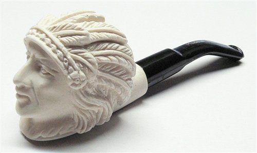 - Small Hand Carved Indian Meerschaum Pipes