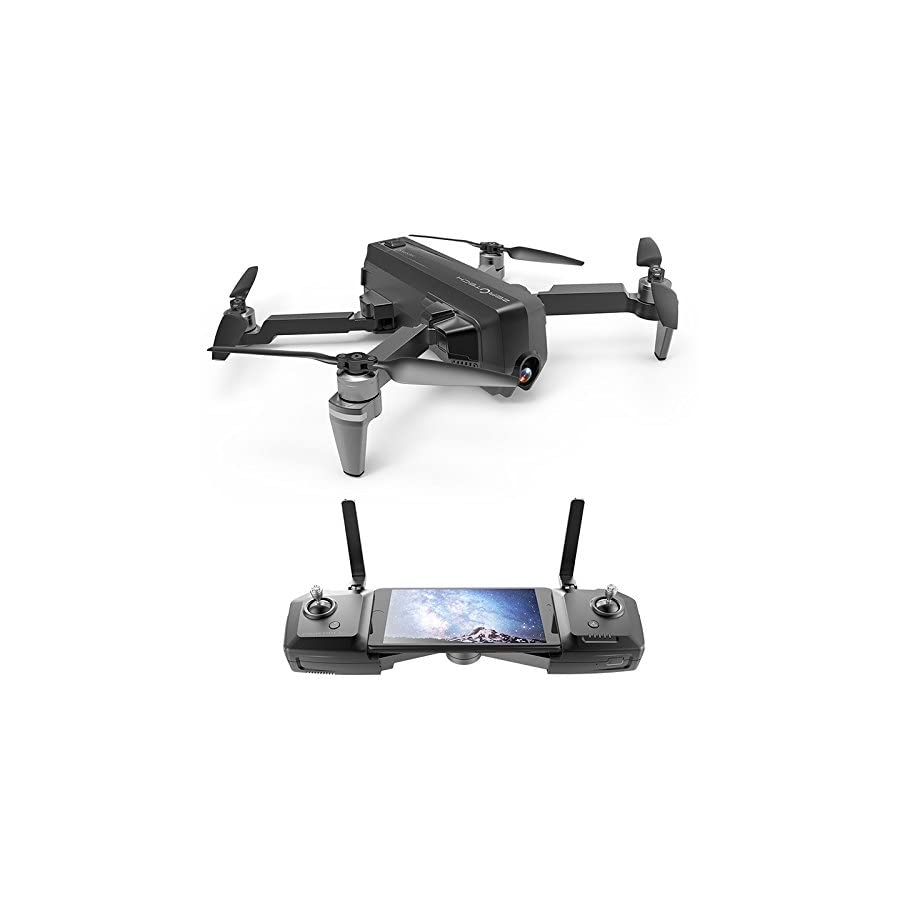 ETbotu Drone Helicopter, Hesper Camera Drone FPV with 4K HD Camera 1080P GPS Smart RC Quadcopter Remote & APP Control Helicopter