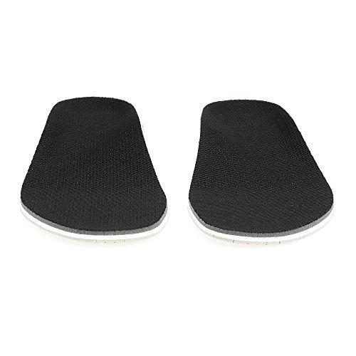homese 2,3 cm Höhe Schuhe Kisseneatz Orthopädische Einlegesohle Sohlenpolster für die Unterstützung des Fußgewölbes Plattfuß Gesundheit Feste Höhe Erhöhen Sie den GedächtnisschaumArch Support