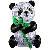 Little Bado 3D Crystal Puzzle Cute Panda Model DIY 1 Set Gadget Blocks Building Toy Gift for 8 9 10 11 12 Years Old Kids Boys Girls