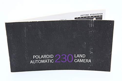 Polaroid Automatic 230 Land Camera Original Instruction Manual