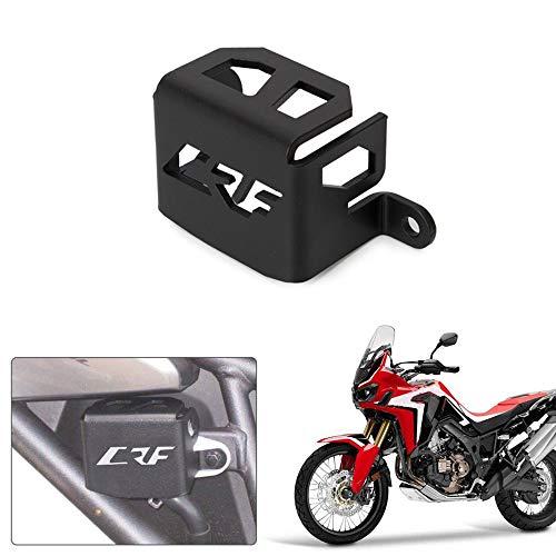 Carrfan Motorcycle Rear Brake Reservoir Guard Protective Cover CNC Aluminum for Honda CRF1000L 17-18 ()