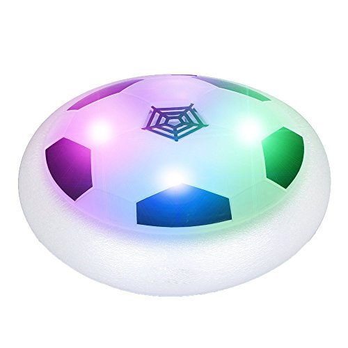 G&R GR Soccer Disk Fun Toys Suspension Pneumatic Toys for Kids Children Games Latest Indoor Game Toy Glowing Electric by G&R