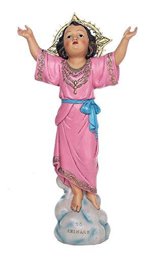Pacific Giftware 16 Inch Divine Child Statue Holy Child Divino Niño de Bogotá Estatua Catholic Child Jesus Nino Jesus Sculpture