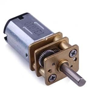 Tanzimarket - N20 alta calidad DC Gear Motor miniatura High Torque Eléctrico Caja de engranajes de motor