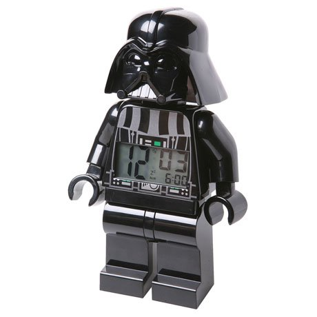 Lego Star Wars Alarm Clock - Darth Vader
