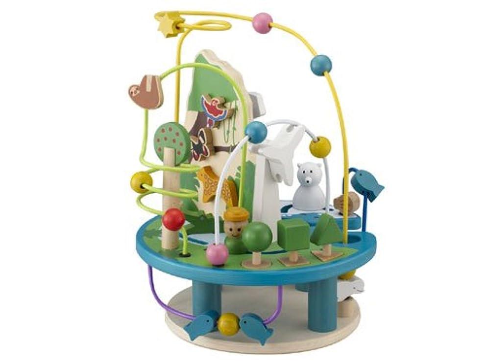 紀元前拷問子供キッズ 知育玩具,SODIAL(R)子供キッズ 知育玩具 指先トレーニング 木製ミニ ビーズコースター