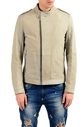 Hugo Boss Landerson 100% Leather Gray Men