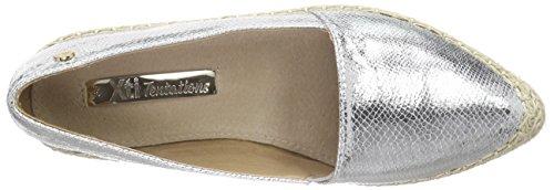 XTI 30151 Damen Espadrilles Silber (Plata)