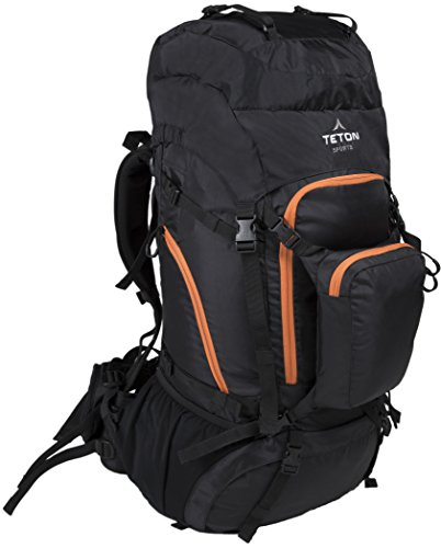 TETON Sports Grand 5500 Backpack; Ultralight Backpacking Gear; Hiking Backpack for Camping, Hunting, Mountaineering, and Outdoor Sports; Free Rain Cover Included