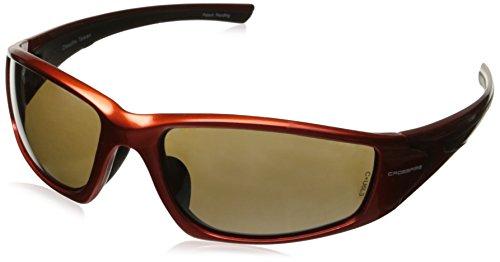 Crossfire 23125 RPG Safety Glasses HD Dimi-Copper Flash Mirror Lens- Burnt Orange - Sunglasses Crossfire