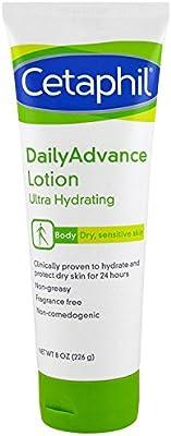 Cetaphil DailyAdvance Ultra Hydrating Lotion for Dry/Sensitive Skin 8 oz