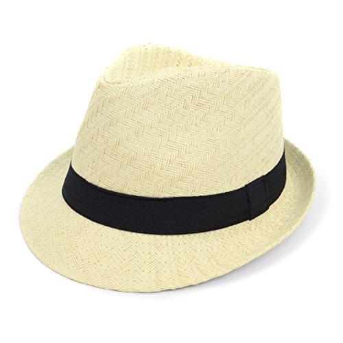 Men & Women Summer Short Brim Fedora Hat