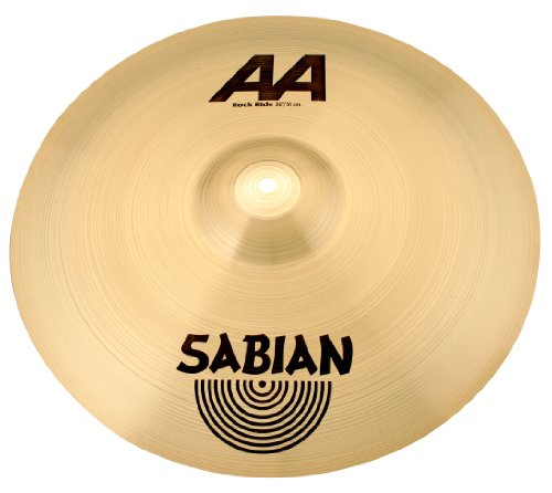 Used, Sabian 20 Inch AA Rock Ride Cymbal for sale  Delivered anywhere in USA