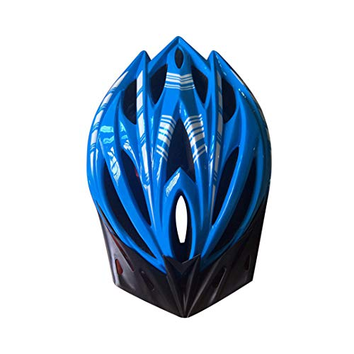SDSVFG Men Women MTB Road Kids Bicycle Helmets Adults Visor Motorcycle ty Protector Blue