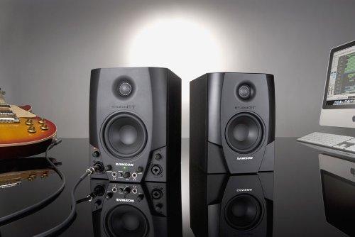 Samson Studio GT Active Studio Monitors with USB Audio Interface