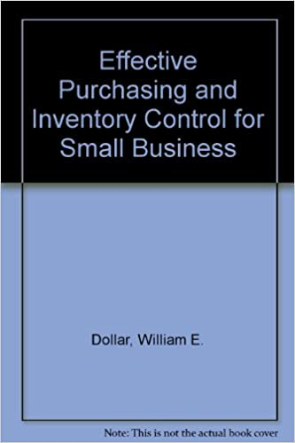 Effective Purchasing and Inventory Control for Small