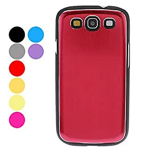 Mill Finish Hard Case for Samsung Galaxy S3 I9300 (Assorted Colors) --- COLOR:Silver